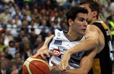 Greek and Serb players riot at World Basketball Champ'ships