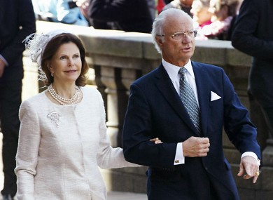 King Carl Gustav has been married to Queen Silvia for 30 years - but allegedly regularly attended orgies in Mafia-owned clubs.