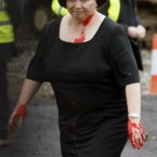 The Dublin City councillor who attacked Mary Harney with a bottle of red paint at the start of this month has been charged.