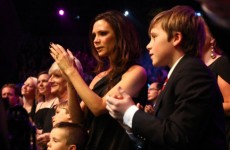 Aw. Becks makes wife Victoria cry (Slideshow)
