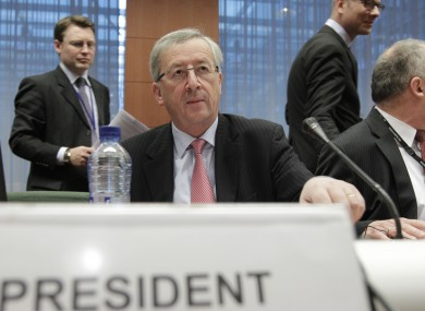 Jean-Claude Juncker says the introduction of a new European Debt Agency before the end of the month would help to end the Eurozone debt crisis and fears over the future of the euro.