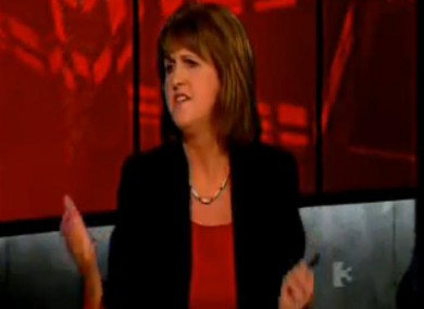 Joan Burton denies