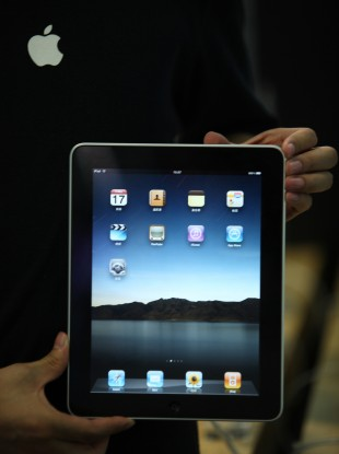 The original iPad launched last year