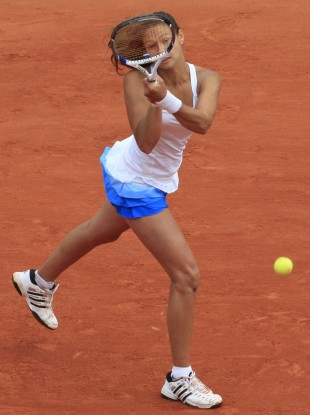 Vitalia Diatchenko: on the brink of SW19 spot.