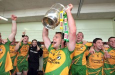 WATCH: Donegal's Kevin Cassidy leads the homecoming celebrat