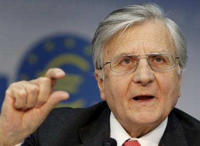 The European Central Bank's Jean-Claude Trichet: the ECB scaled down its purchase of Spanish and Italian bonds last week, having apparently done enough to avert the need for new bailouts.