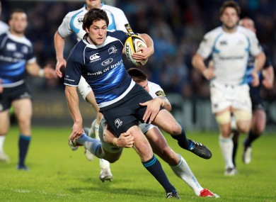 McKinley in action for Leinster during the Magners League in May.