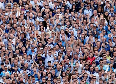 Not all Dublin fans will have the luxury of being able to watch their team play on Sunday according to O'Connor.