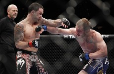 Un-caged: UFC 136 is stacked from top to bottom