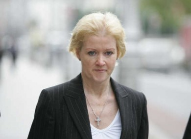 Sharon Collins attends her trial in 2008. The Court of Criminal Appeal today dismissed her appeal against her conviction for soliciting Essam Eid to kill her partner and his sons.