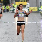 Dundrum's Linda Byrne (pictured at the 2010 Women's Mini-Marathon) achieved Olympic qualification with a time of 2:36:21.