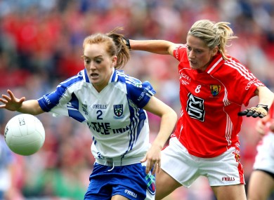 Cork beat Monaghan in a closely fought All-Ireland final.