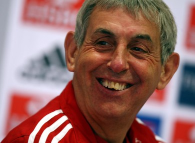 Ian McGeechan: he's been there before.