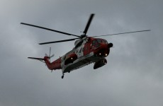 Three men rescued from sinking fishing boat