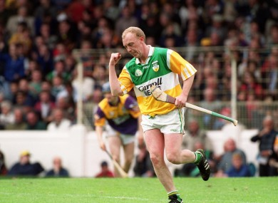 Troy in action in 1999. He succeeds  Joachim Kelly.