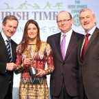 Boxer Katie Taylor picked up Sportswomen of the Month for June.