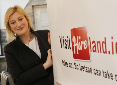 Hireland co-founder Lucy Masterson