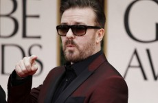 I had a blast… but never again – Ricky Gervais