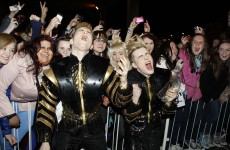 Jedward thank their 'jedicated' fans as they head for Eurovision… again