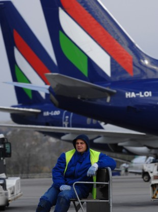 Malév airlines, Hungary's national flag carrier, had run up major debts and had failed to find new investment.