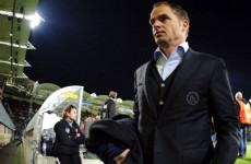 De Boer not giving up ahead of Old Trafford challenge
