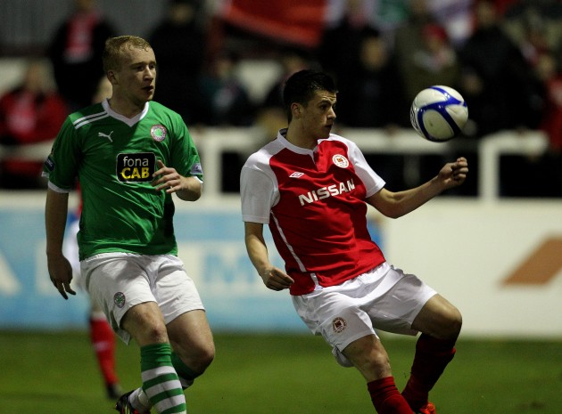 Jake Kelly and Liam Boyce 20/2/2012