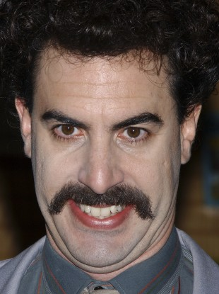 Borat is not the Kazakh team's shooting coach.