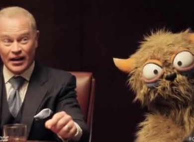 Still from Muppets vs Goldman Sachs