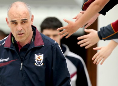 Galway manager Anthony Cunningham had a bad weekend.