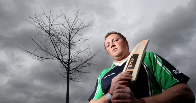 Here's your 'problem with playing cricket in Ireland' pic of the day