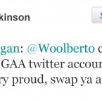 Colm Parkinson demonstrates his wit.