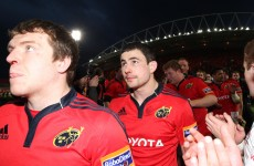 Munster forced into late change as Felix Jones is ruled out