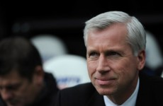 No arguments here: Newcastle's Alan Pardew is n