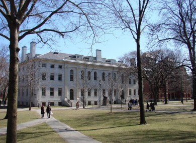 The Harvard campus