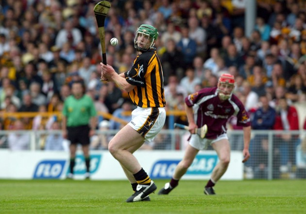 Henry Shefflin scoring a goal from a free 11/7/2004