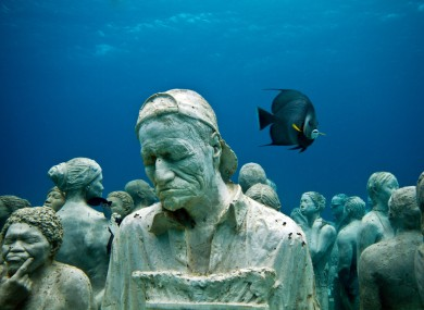 Jason deCaires Taylor sculptures in Mexico