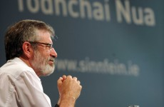 In full: Speech by Gerry Adams at the Sinn Féin Ard Fheis