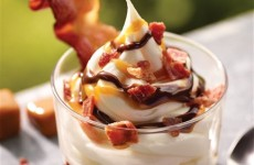 Introducing… the Burger King Bacon Sundae