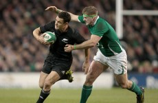 Dan Carter returns as New Zealand name seven uncapped players in squad to face Ireland