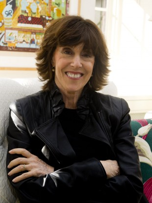 Author and director Nora Ephron (1941-2012) pictured at her home in 2010.