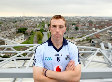 John McCaffrey on the Etihad Skyline in Croke Park