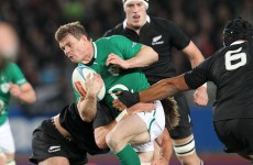 All Blacks made us pay – O'Driscoll