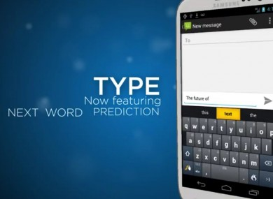 One of Nuance's latest products - the Swype 4-in-1 keyboard