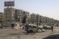 Syria: Government troops fight back against rebels in Damascus