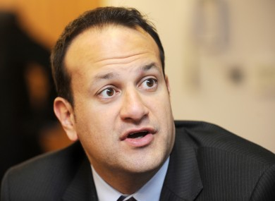Leo Varadkar expressed cautious support for marriage equality