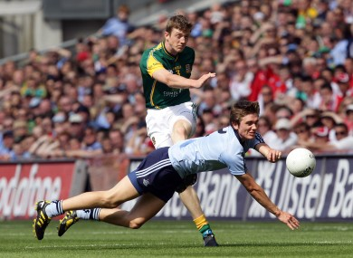 Meath's Kevin Reilly will be up against Dublin's Michael Fitzsimons tomorrow
