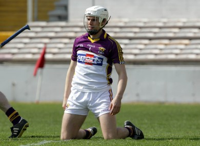 Eanna Martin will line out in goal for Wexford tomorrow evening.