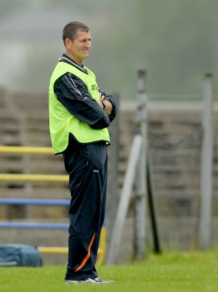 Paddy O'Rourke watches on during Armagh's qualifier defeat yesterday against Roscommon.