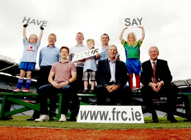 The Football Review Committee Website Launch, Croke Park, Dublin.