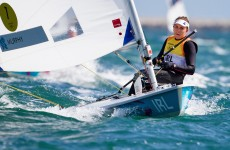 Sailing wrap: Annalise Murphy keeps gold within her grasp